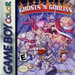 Jaquette de Ghosts 'n Goblins Game Boy