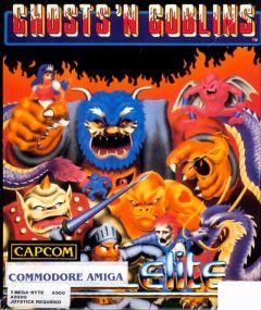 Jaquette de Ghost 'n Goblins Amiga