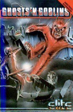 Jaquette de Ghost 'n Goblins Amstrad CPC