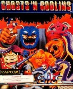 Jaquette de Ghost 'n Goblins Atari ST