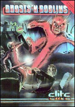 Jaquette de Ghosts 'n Goblins Commodore 64