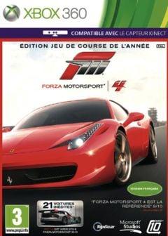 Jaquette de Forza 4 : Édition Jeu de course de l'année Xbox 360