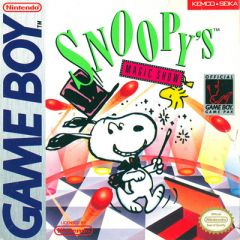 Jaquette de Snoopy's Magic Show Game Boy