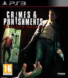 Jaquette de Sherlock Holmes : Crimes & Punishments PlayStation 3