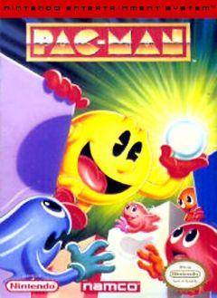 Jaquette de Pac-Man NES