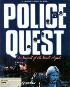 Jaquette de Police Quest : In Pursuit of the Death Angel Amiga