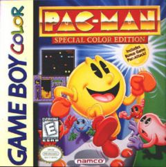 Jaquette de Pac-Man Game Boy