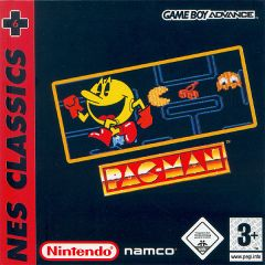 Jaquette de Pac-Man Game Boy Advance