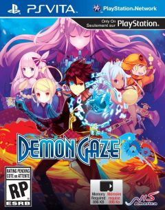 Jaquette de Demon Gaze PS Vita