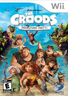 Jaquette de Les Croods : Fête Préhistorique Wii