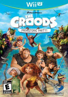 Jaquette de Les Croods : Fête Préhistorique Wii U