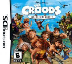Jaquette de Les Croods : Fête Préhistorique DS