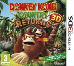Jaquette de Donkey Kong Country Returns Nintendo 3DS