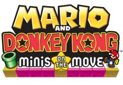 Jaquette de Mario and Donkey Kong : Minis on the Move Nintendo 3DS