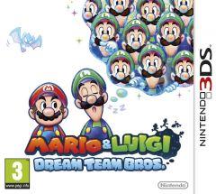 Jaquette de Mario & Luigi : Dream Team Bros. Nintendo 3DS