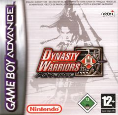 Jaquette de Dynasty Warriors Advance Game Boy Advance