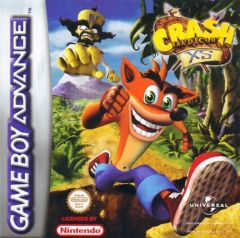 Jaquette de Crash Bandicoot XS Game Boy Advance