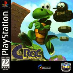 Jaquette de Croc PlayStation