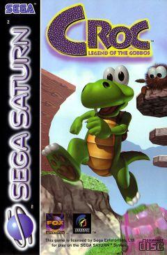 Jaquette de Croc Sega Saturn