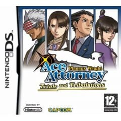 Jaquette de Phoenix Wright : Ace Attorney Trials and Tribulations DS