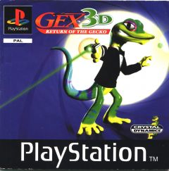 Jaquette de Gex 3D : Return of the Gecko PlayStation