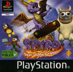 Jaquette de Spyro : Year of the Dragon PlayStation