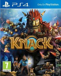 Jaquette de Knack PS4