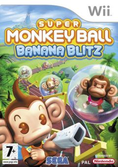 Jaquette de Super Monkey Ball : Banana Blitz Wii