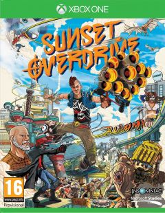Jaquette de Sunset Overdrive Xbox One