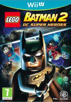 Jaquette de LEGO Batman 2 : DC Super Heroes Wii U