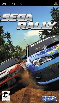 Jaquette de Sega Rally PSP