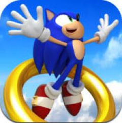 Jaquette de Sonic Jump iPhone, iPod Touch