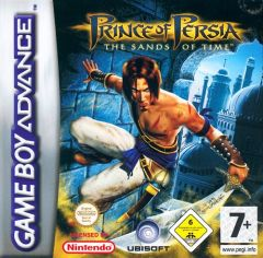 Jaquette de Prince of Persia : les Sables du Temps Game Boy Advance