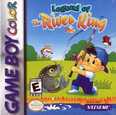 Jaquette de Legend of the River King Game Boy Color