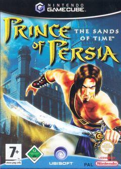 Jaquette de Prince of Persia : les Sables du Temps GameCube