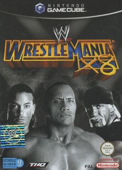 Jaquette de WWE Wrestlemania X8 GameCube