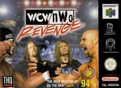 Jaquette de Wcw Vs Nwo Revenge Nintendo 64