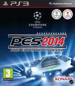 Jaquette de PES 2014 PlayStation 3