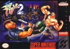 Jaquette de Final Fight 2 Super NES