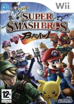 Jaquette de Super Smash Bros. Brawl Wii