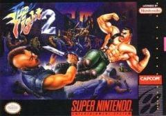 Jaquette de Final Fight 2 Wii