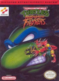 Jaquette de Teenage Mutant Ninja Turtles : Tournament Fighters NES