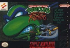 Jaquette de Teenage Mutant Ninja Turtles : Tournament Fighters Super NES