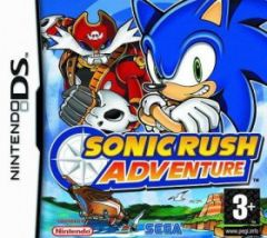 Jaquette de Sonic Rush Adventure DS