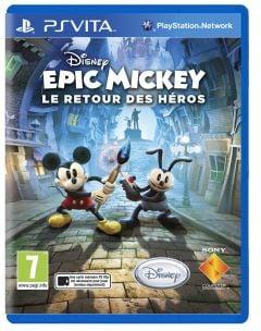 Jaquette de Epic Mickey : Le Retour des Héros PS Vita
