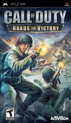 Jaquette de Call of Duty : les Chemins de la Victoire PSP