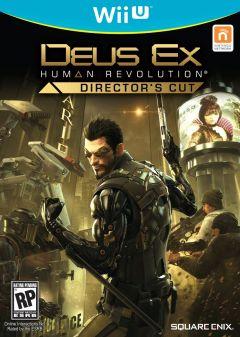 Jaquette de Deus Ex : Human Revolution Director's Cut Wii U