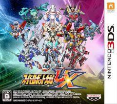 Jaquette de Super Robot Taisen UX Nintendo 3DS