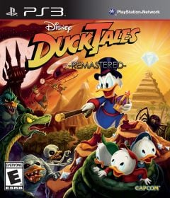 Jaquette de Duck Tales Remastered PlayStation 3