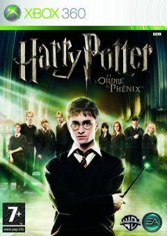 Jaquette de Harry Potter et l'Ordre du Phénix Xbox 360